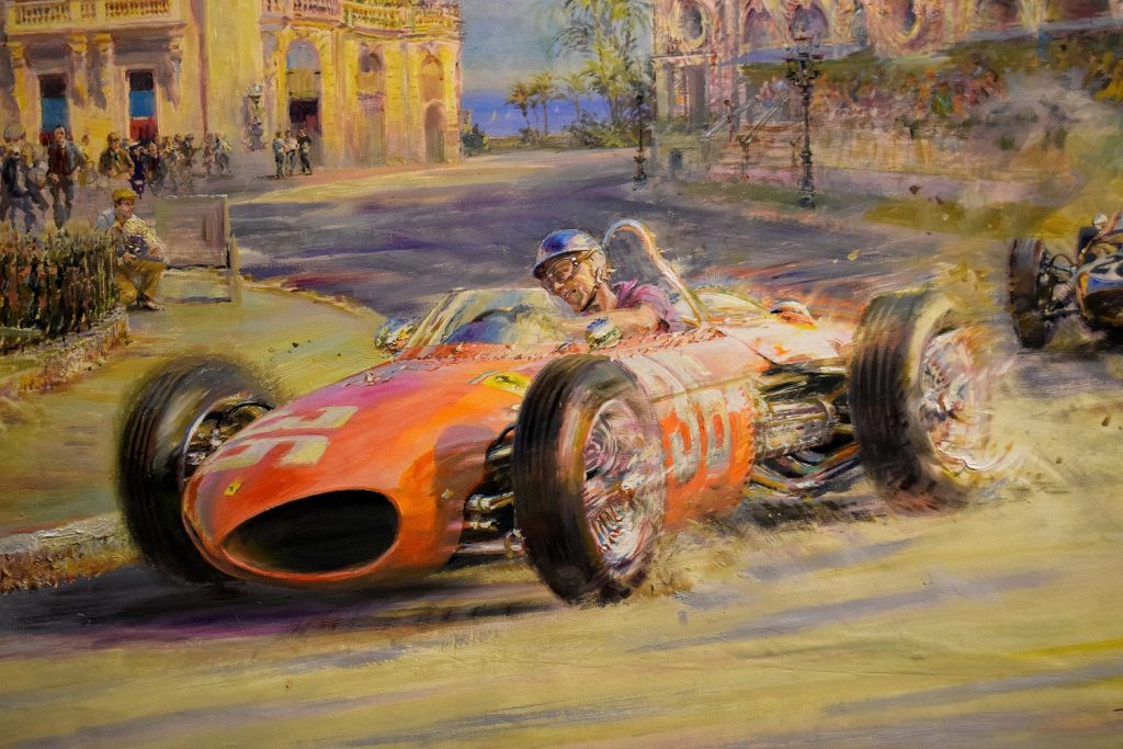 Art of motoring Ferrari at Monaco
