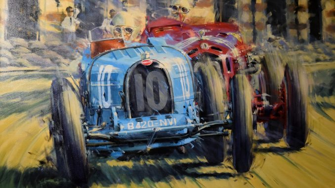 Art of Motoring Bugatti