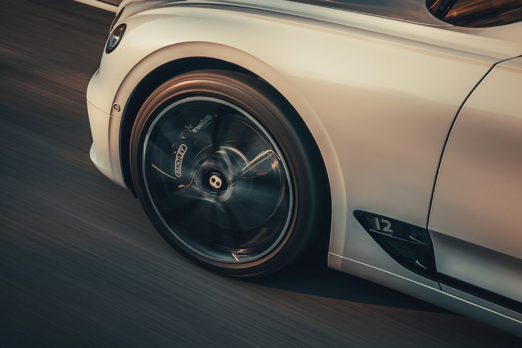 Bentley Continental GT Convertible Wheel