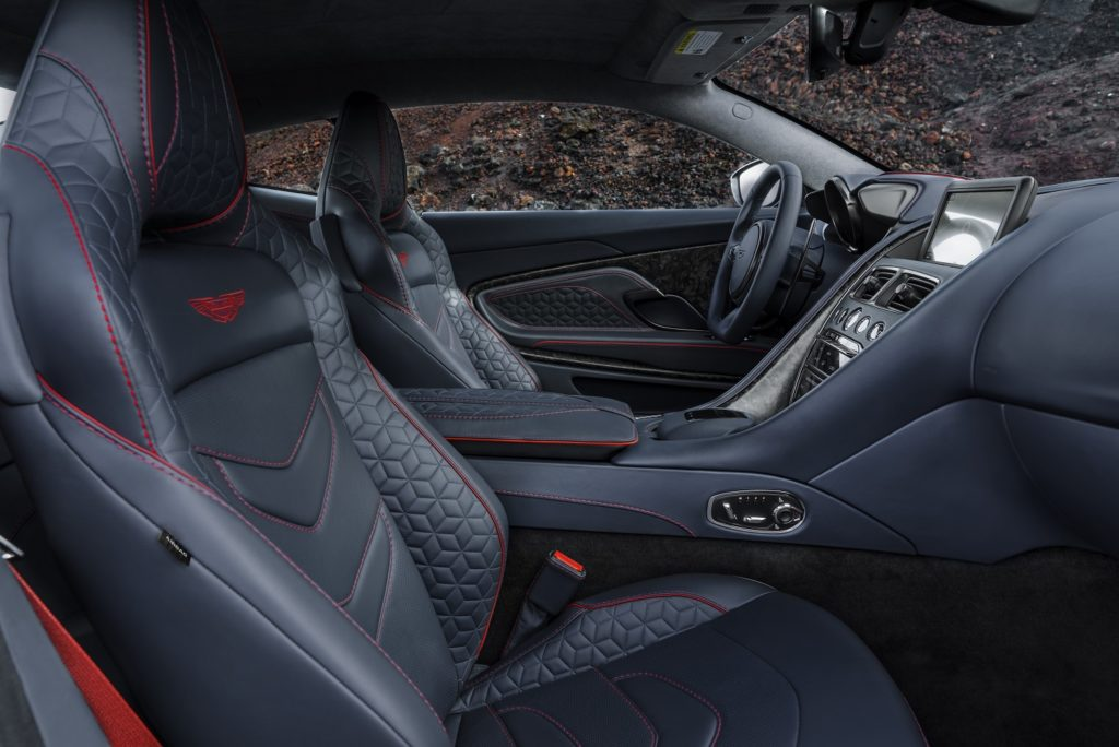 DBS Superleggera Interior