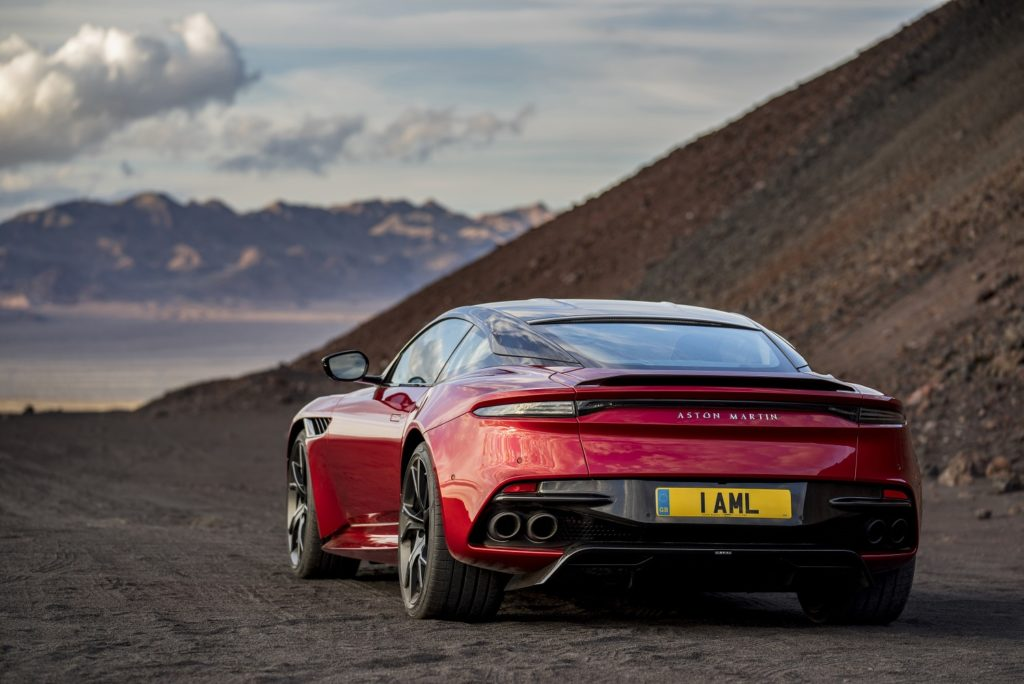 DBS Superleggera Rear View