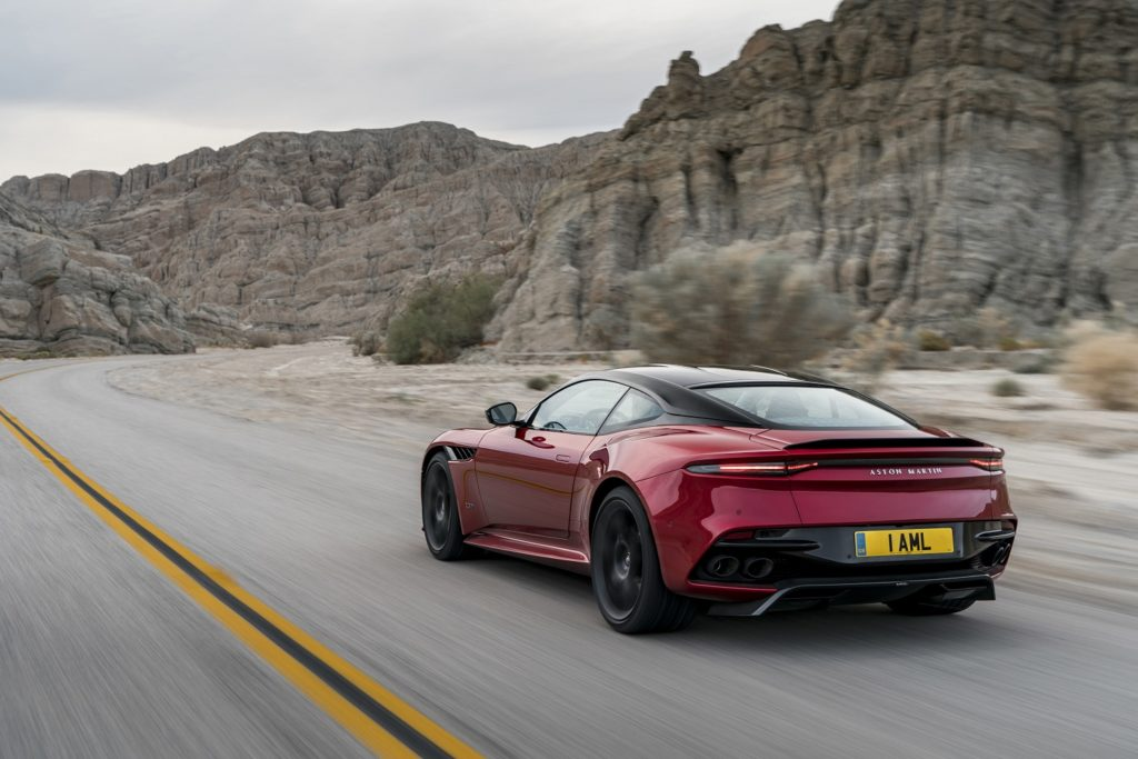 DBS Superleggera in motion