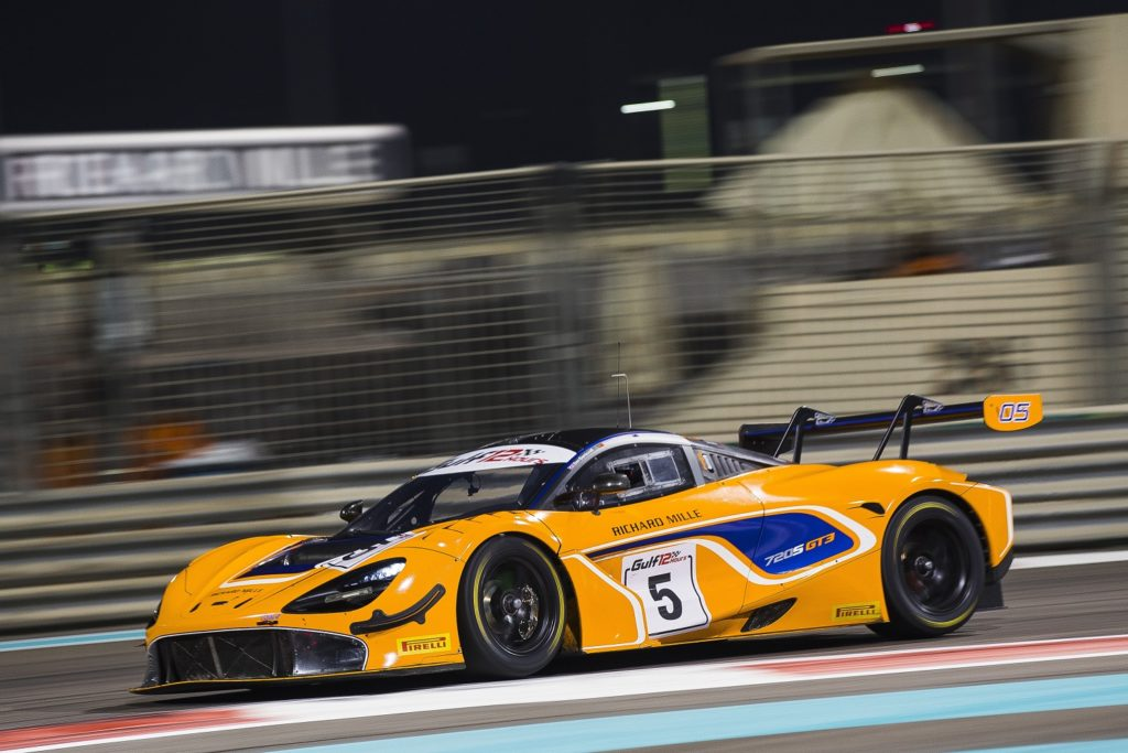 McLaren 720S GT3 Gulf 12 Hours on the limit