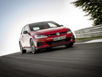 The new Volkswagen Golf GTI TCR