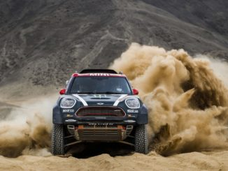 MINI John Cooper Works Rally at Dakar Rally