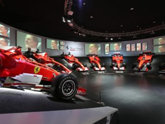 Michael 50 Schumacher Exhibition Display
