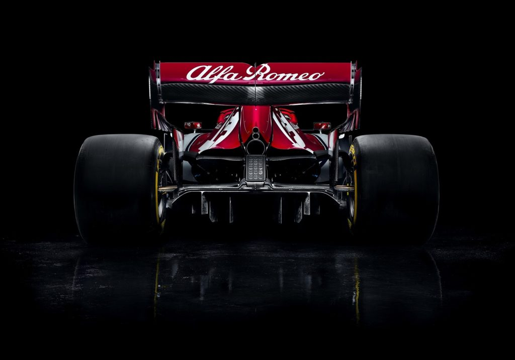 Alfa Romeo Racing C38 Rear View