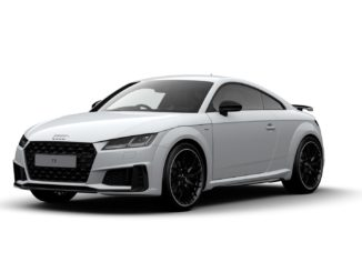 Audi TT Black Edition Front View
