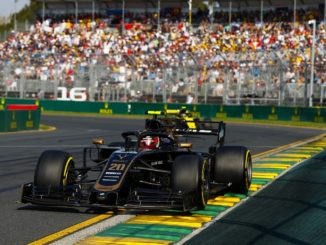 Kevin Magnussen at the Australian Grand Prix