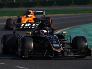 Romain Grosjean qualifying at Australian GP