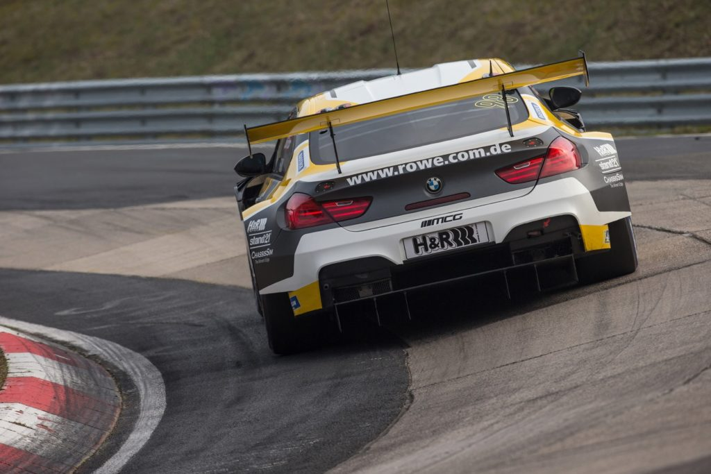 The BMW M6 GT3 of John Edwards