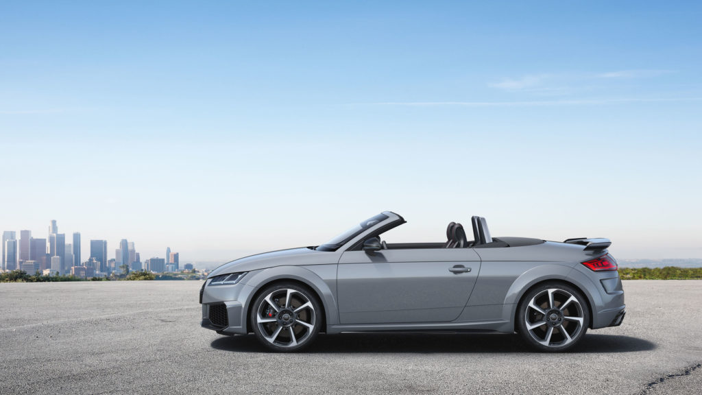 2019 Audi TT RS Roadster profile