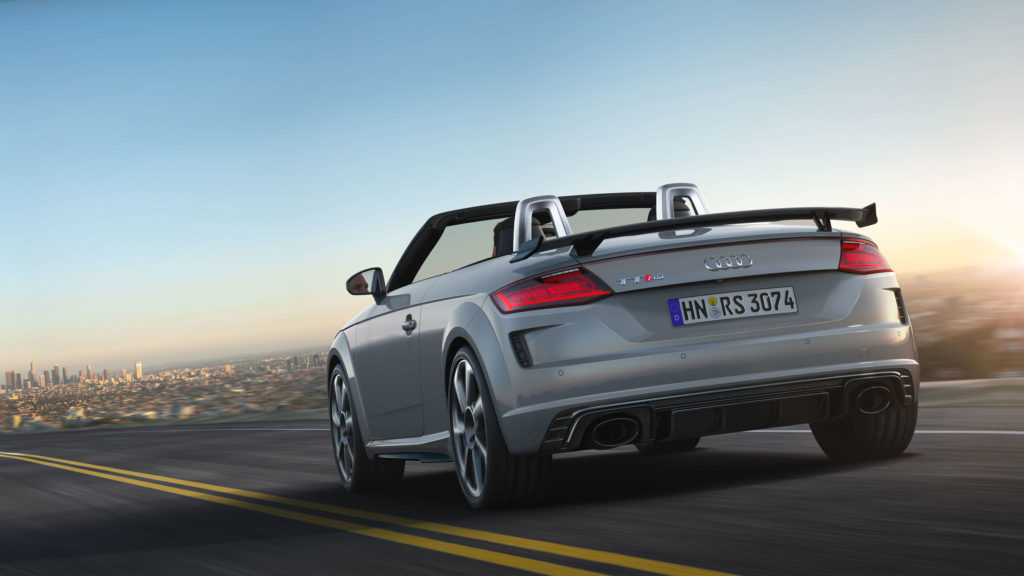 2019 Audi TT RS Roadster rear