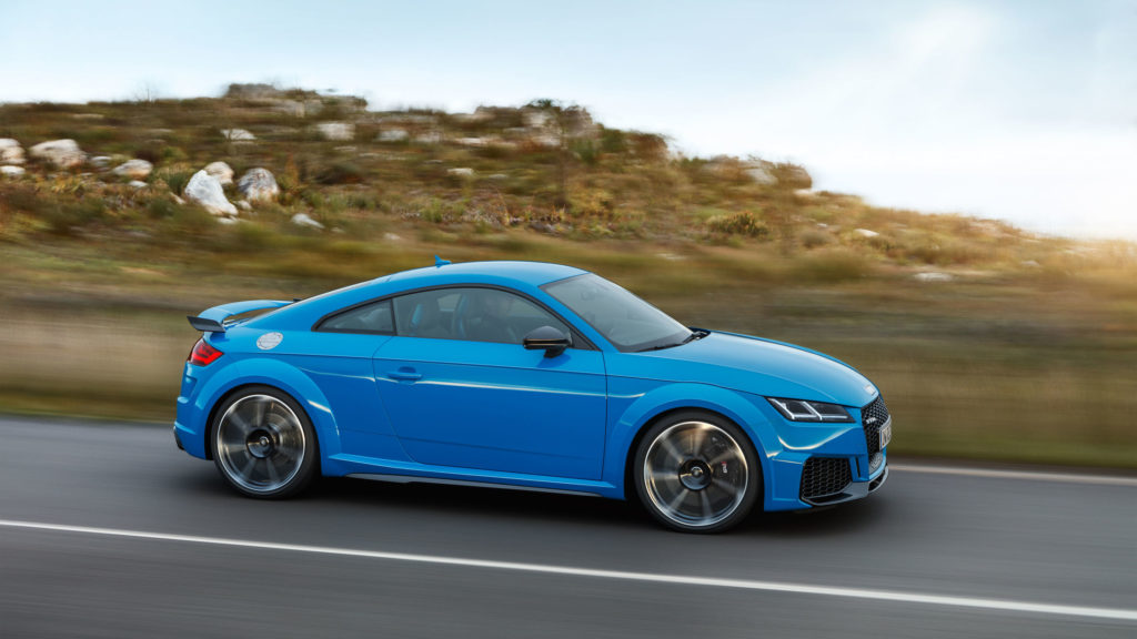 2019 Audi TT RS profile