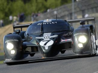Bentley Speed 8 at Le Mans in 2003