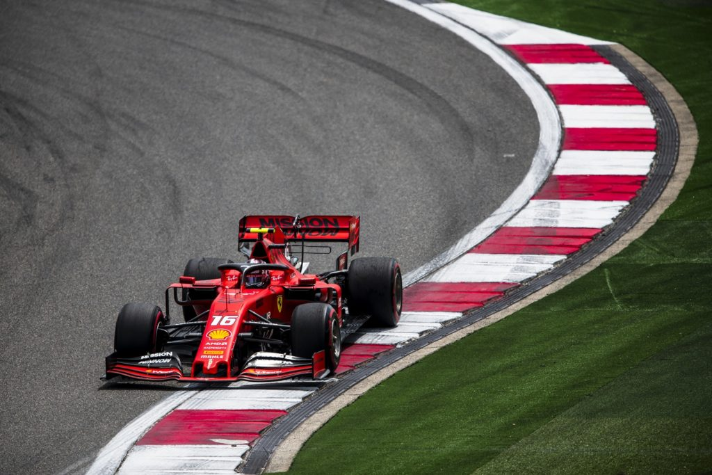 Charles Leclerc Qualifying for Chinese GP