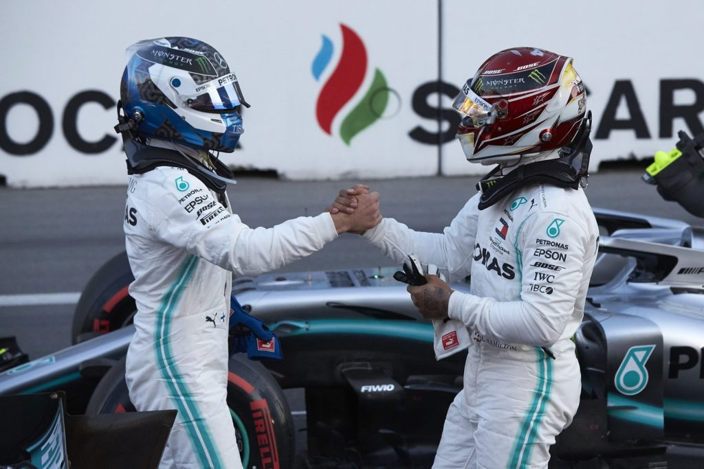 Bottas and Hamilton take pole and second for the 2019 Azerbaijan Grand Prix