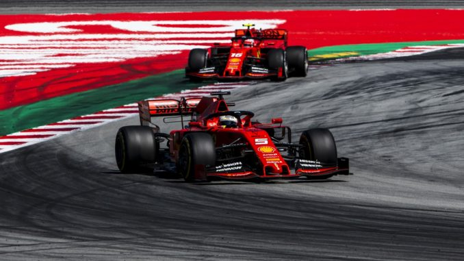 Ferrari at the Spanish Grand Prix