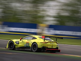Aston Martin Vantage GTE at Spa