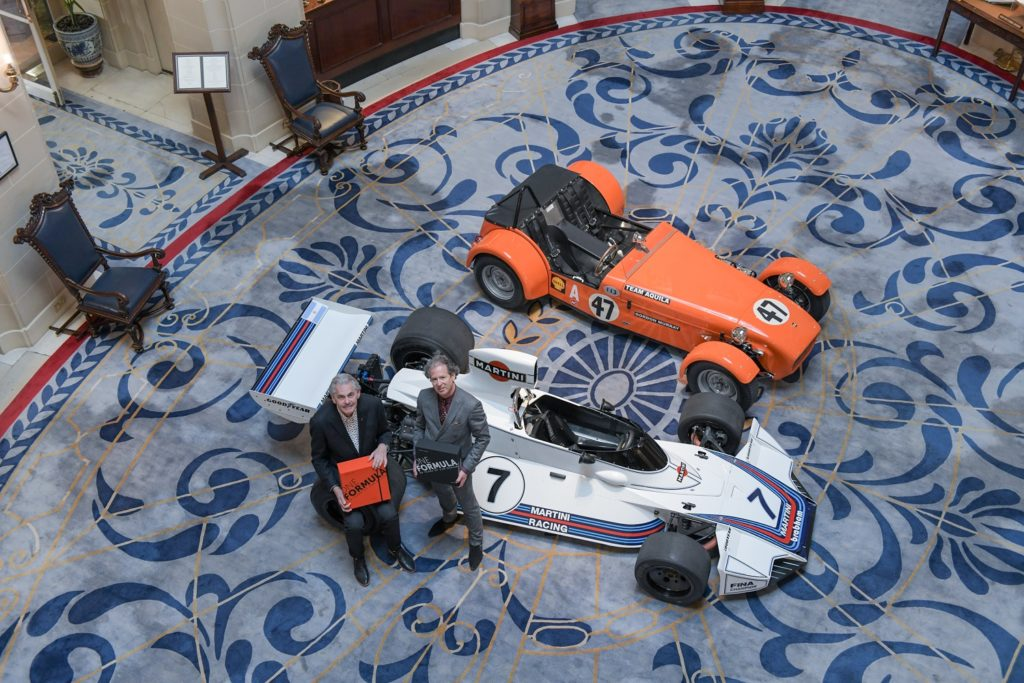 Two of Gordon Murray's cars in the RAC