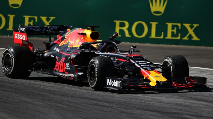 Max Verstappen winning the Austrian Grand Prix
