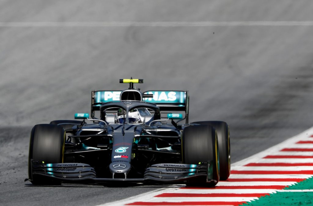 Valtteri Bottas at the Austrian Grand Prix