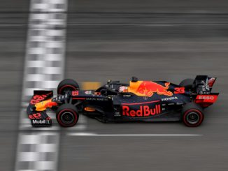 Max Verstappen winning the German Grand Prix