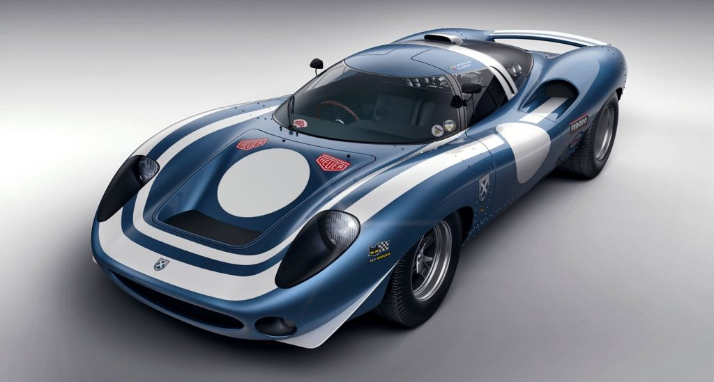 Front view of Ecurie Ecosse LM69