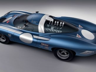Side view of the Ecurie Ecosse LM69