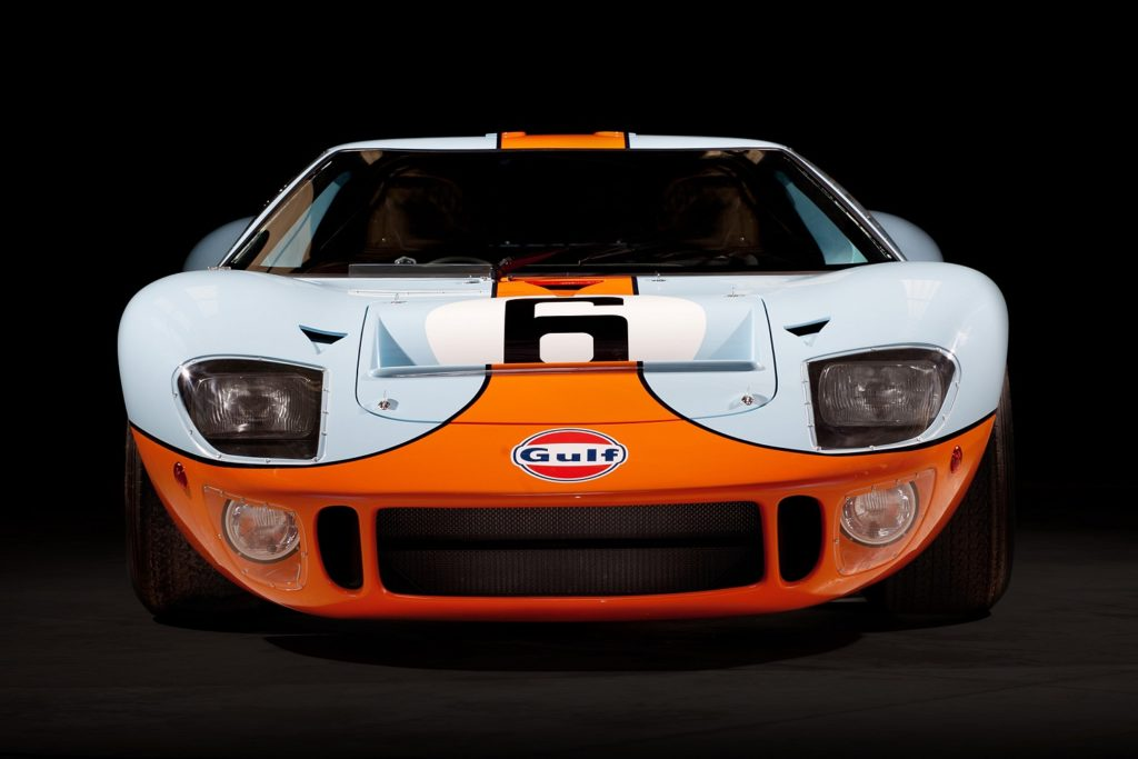 Gulf Ford GT40 P/1075 Profile