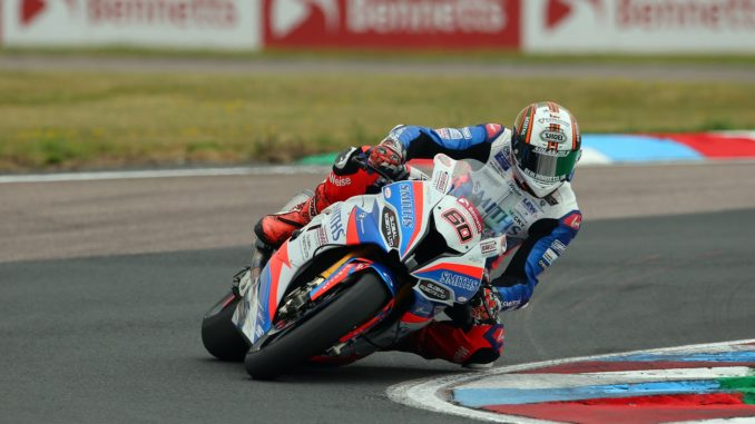 Peter Hickman on his Smiths Racing BMW