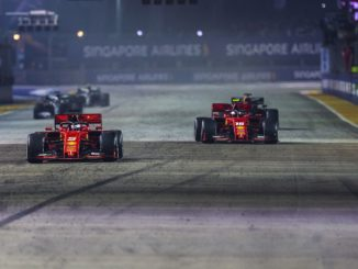 Ferrari one-two at Singapore Grand Prix