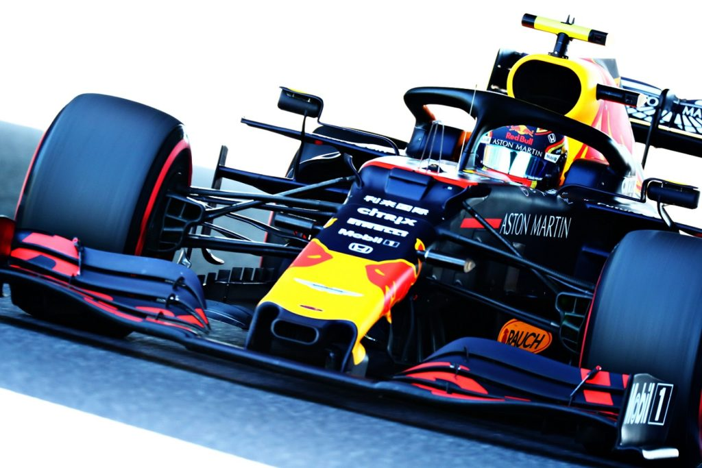 Alexander Albion in his Red Bull finishes fourth at the Japanese Grand Prix
