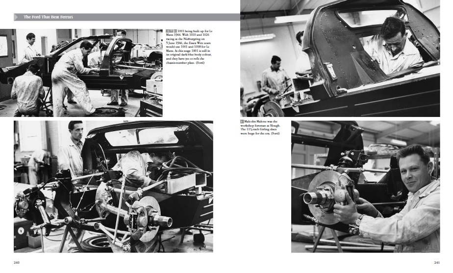 Building the GT40