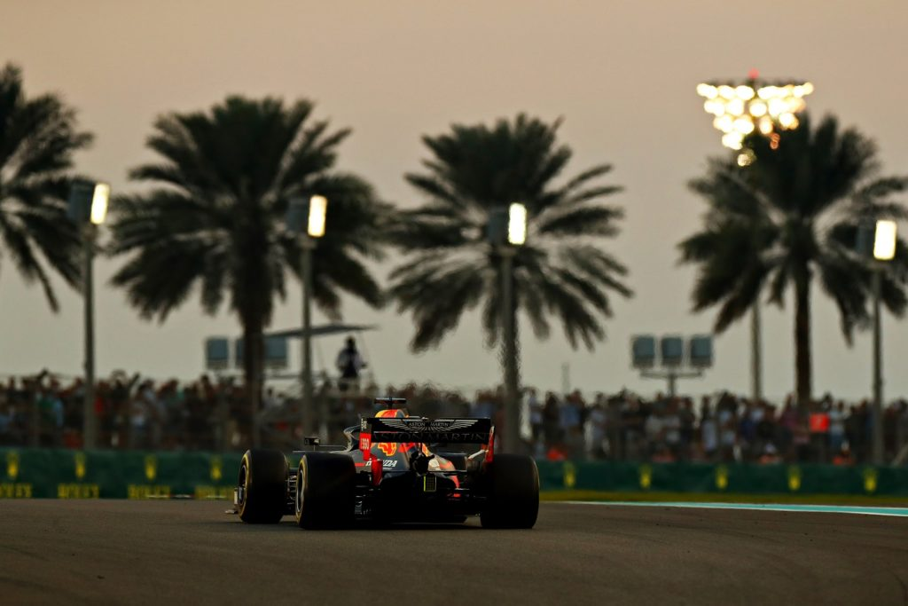 Max Verstappen at the Abu Dhabi Grand Prix