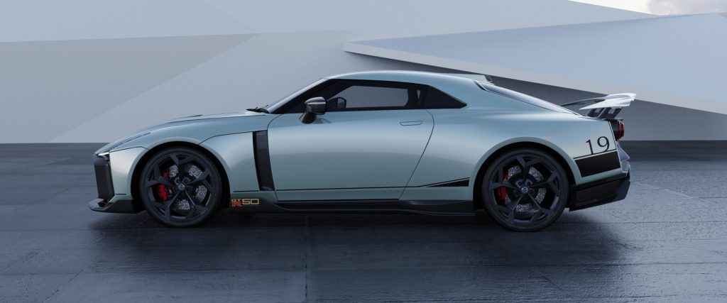 Nissan GT-R50 side view