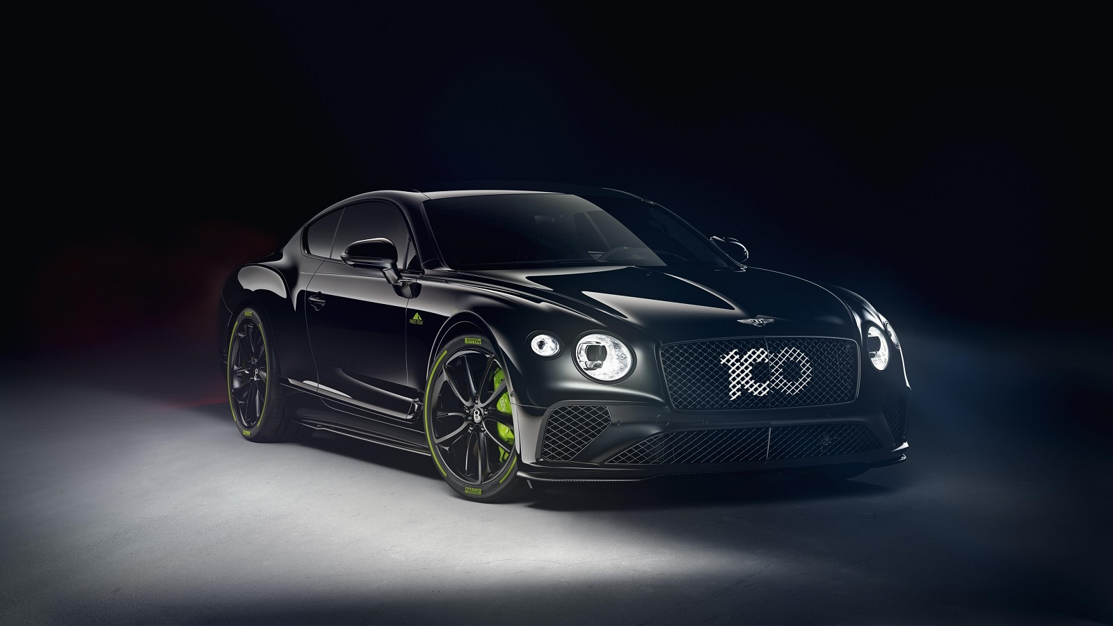 Pikes Peak Bentley Continental GT in black