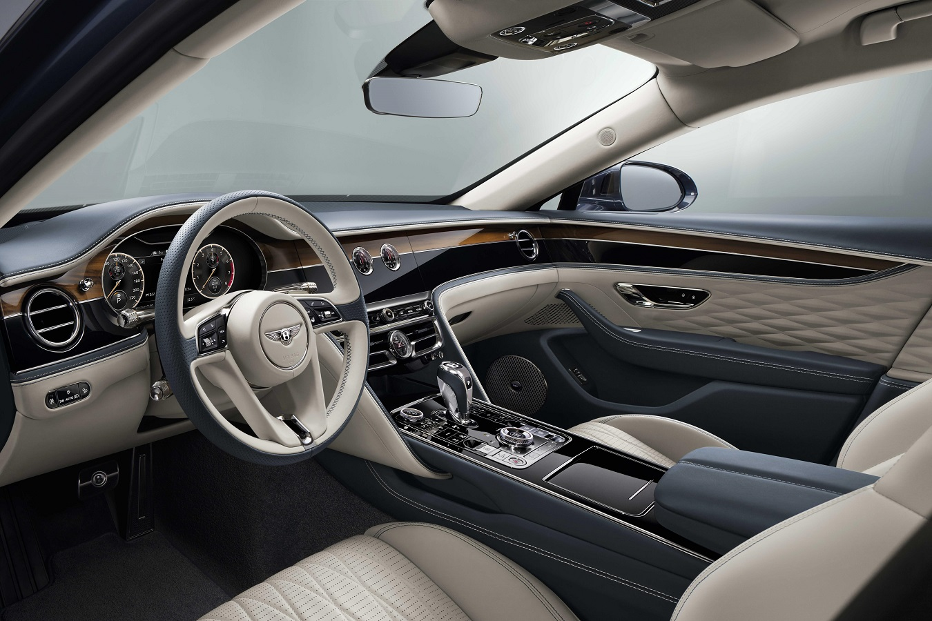 Bentley Flying Spur Handcrafted Interior Our Man Behind The Wheel