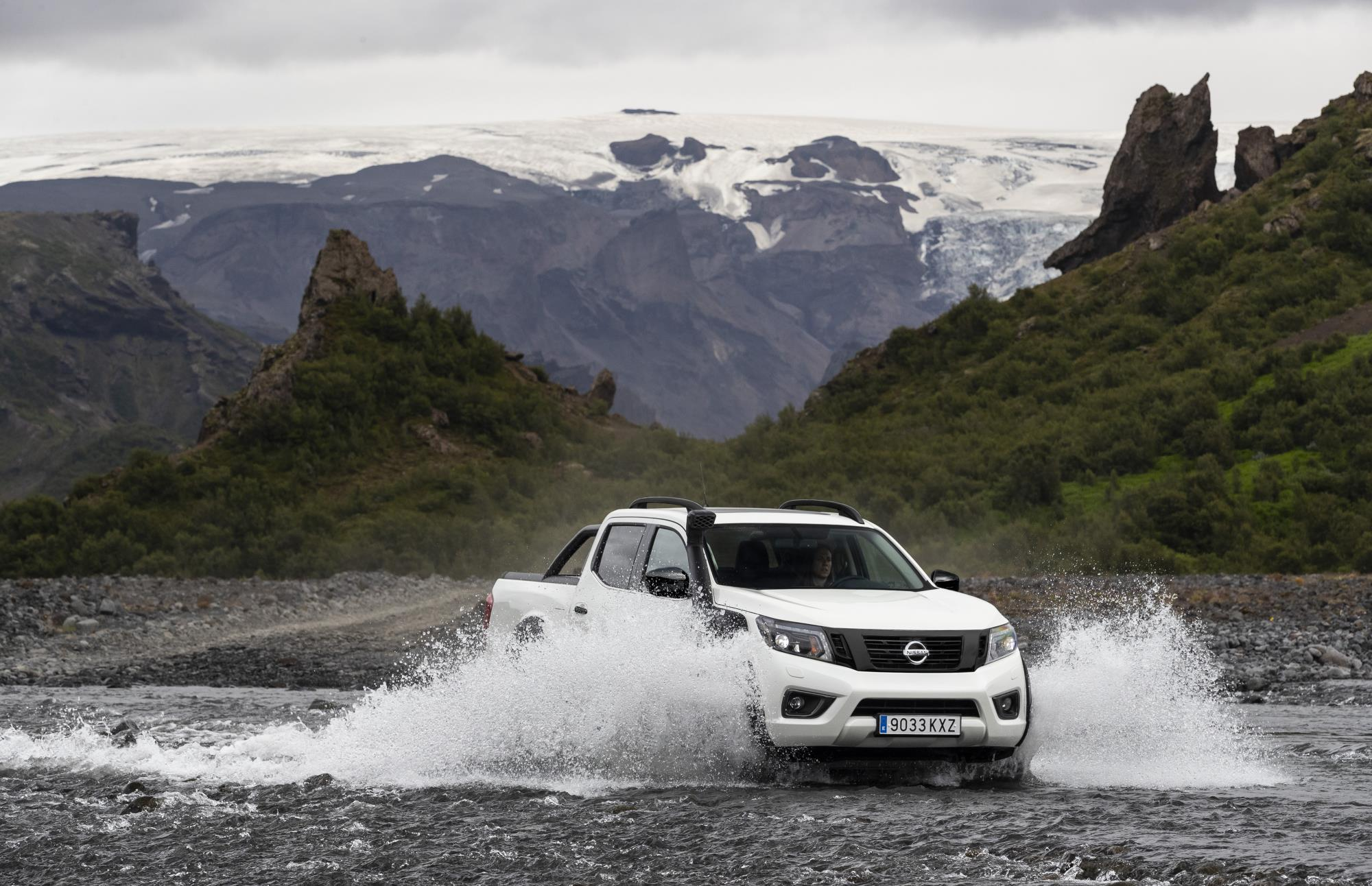 Off-Road Capability of the Navara OFF ROADER AT32