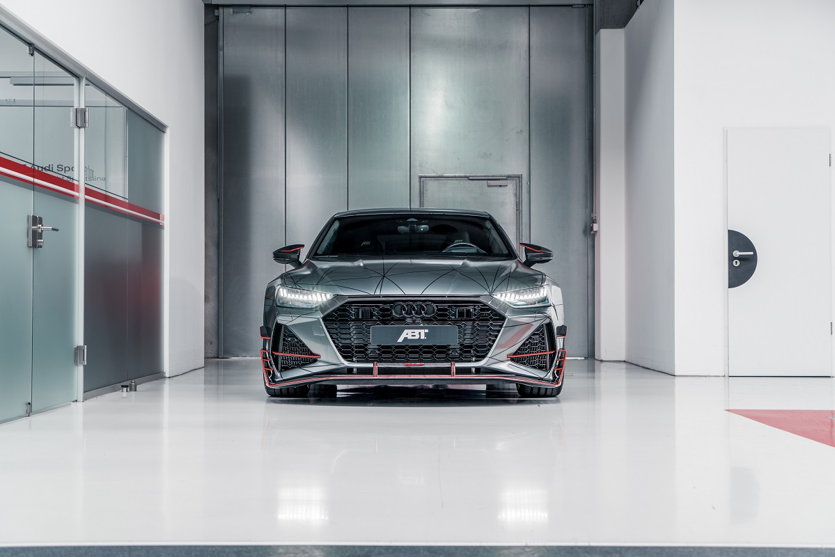 Front of ABT RS7-R