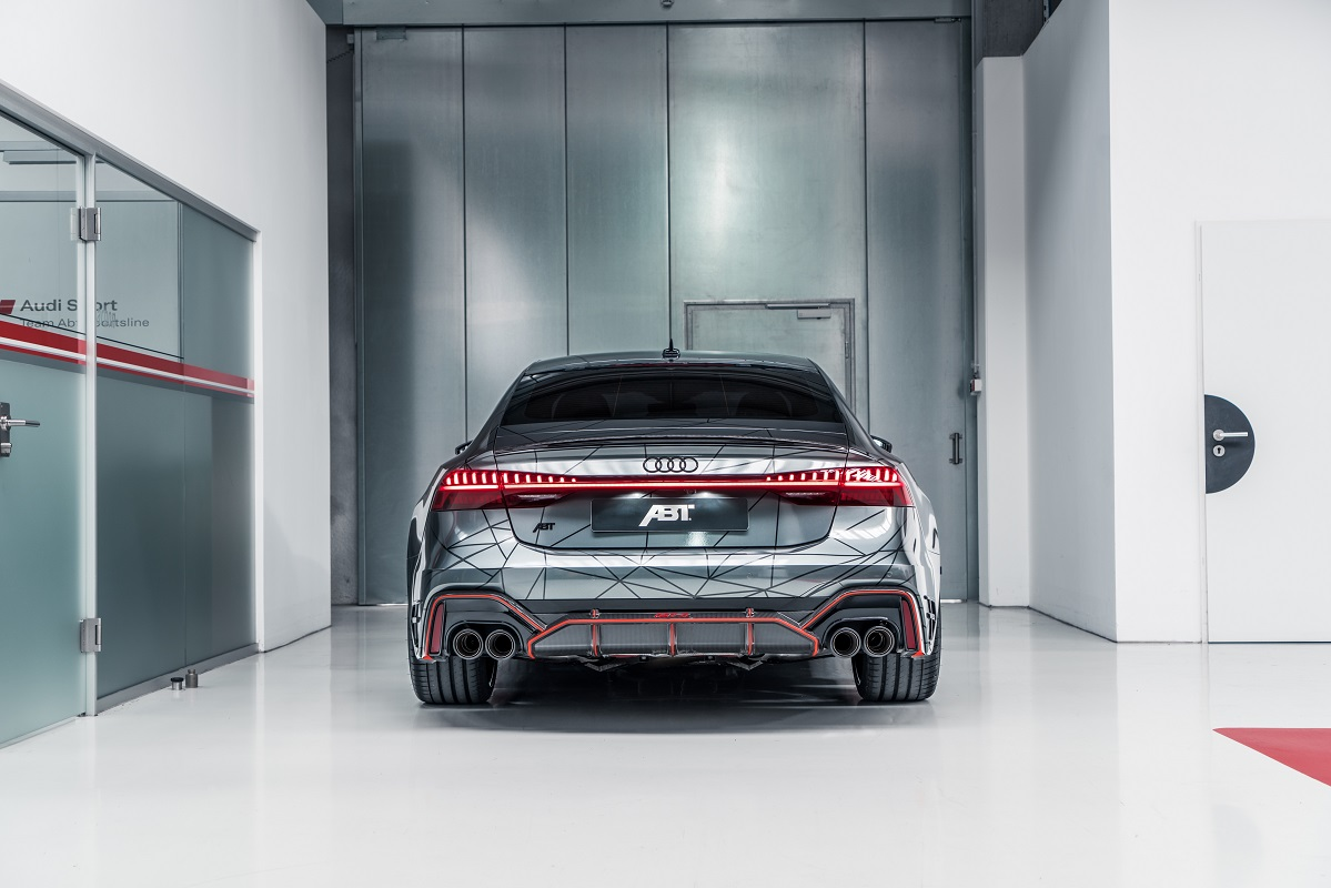 Rear of the ABT RS7-R