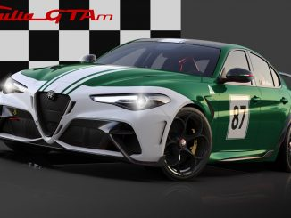 Alfa Romeo Giulia GTA dedicated Green Livery