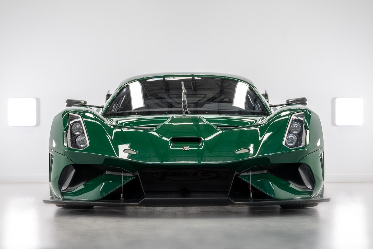 Front view of the new BT62 Competition