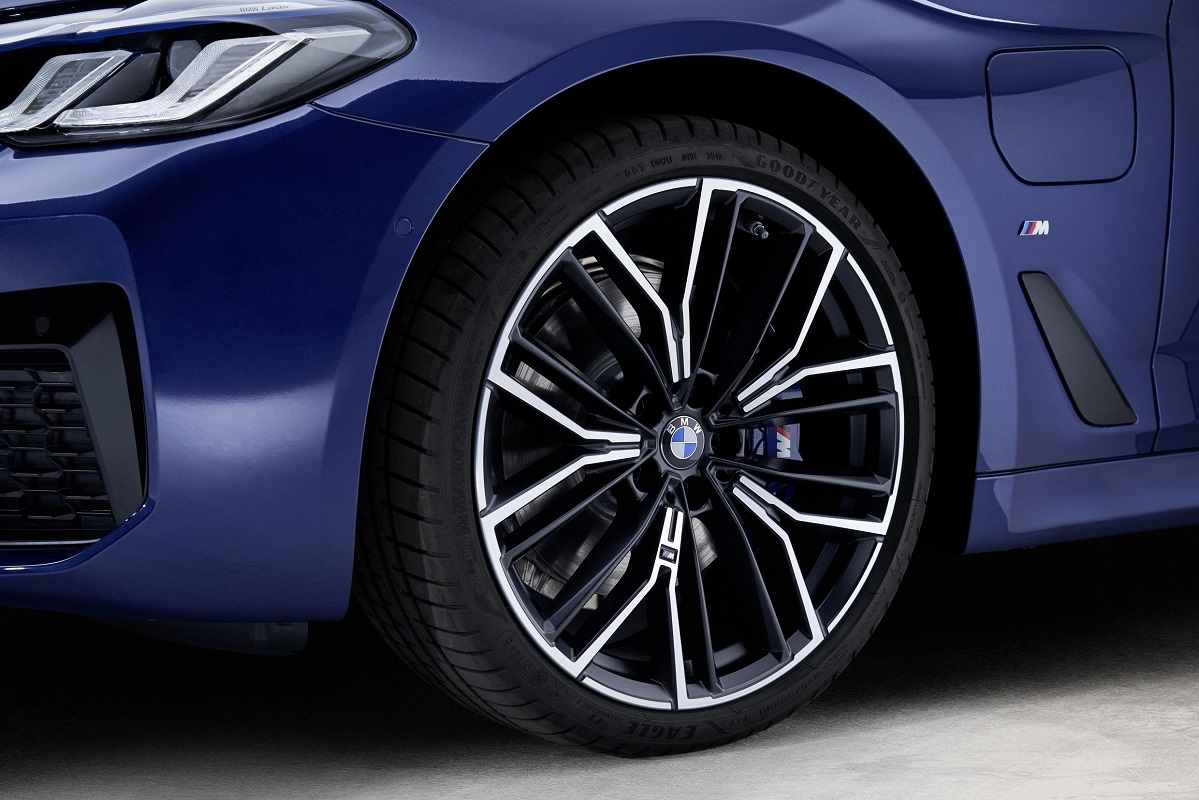 Alloy wheels on the new BMW 5 Series
