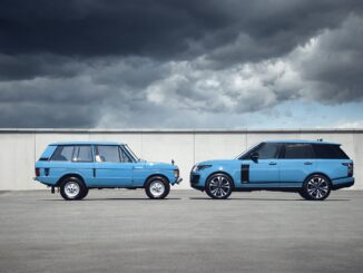 The original and current Range Rover