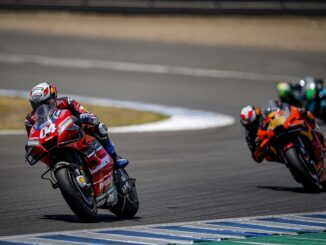 MotoGP Spanish Grand Prix Podium Finish For Andrea Dovizioso