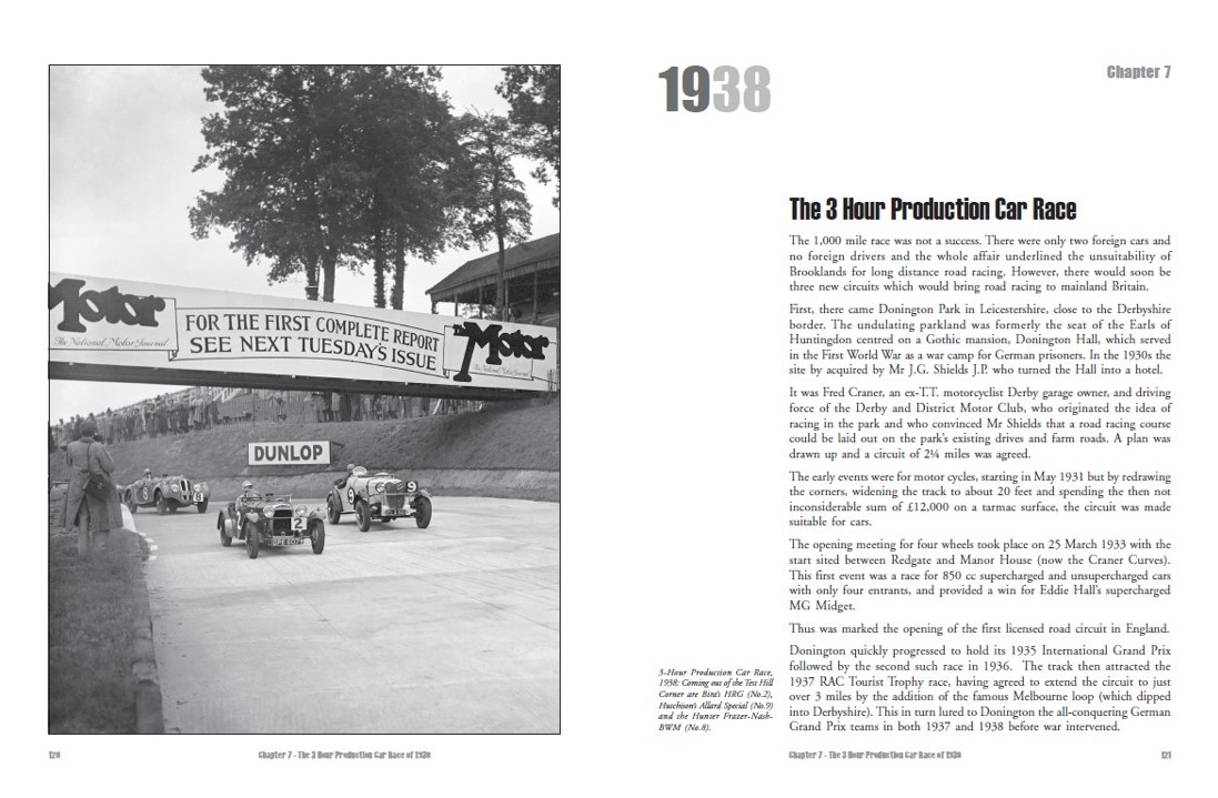 The 3 Hours Production Car Race in 1938