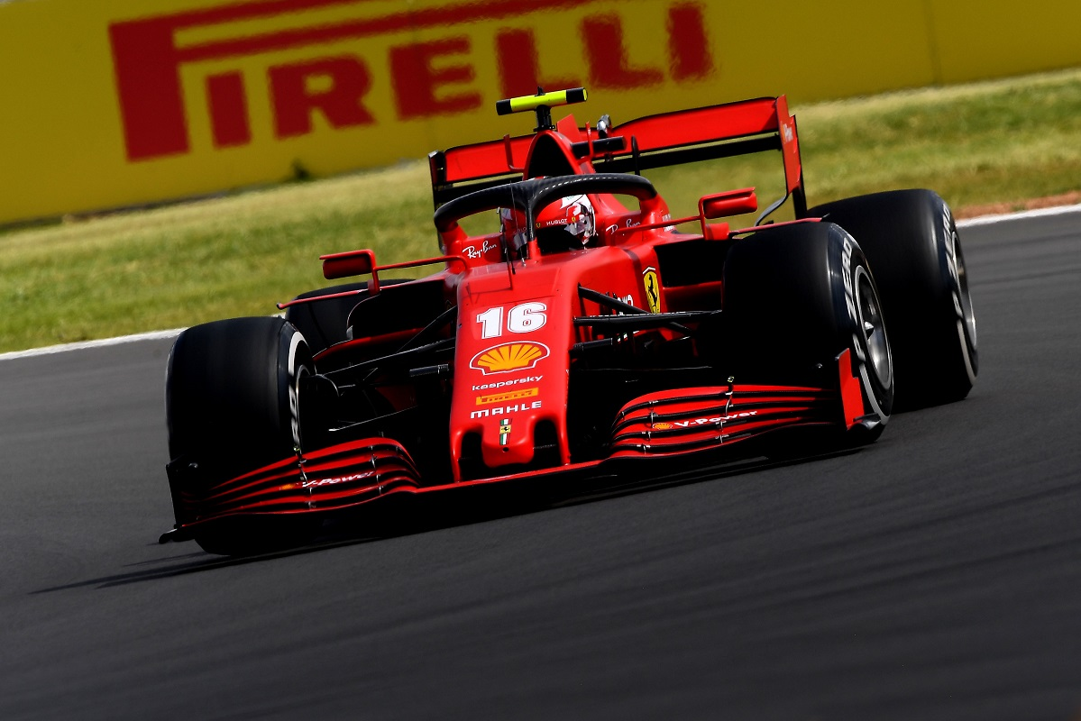 Charles Leclerc takes third at the 2020 British Grand Prix