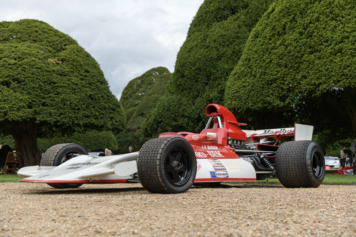 BRM P180 J.P.Beltoise 1972 at the 2020 Concours of Elegance