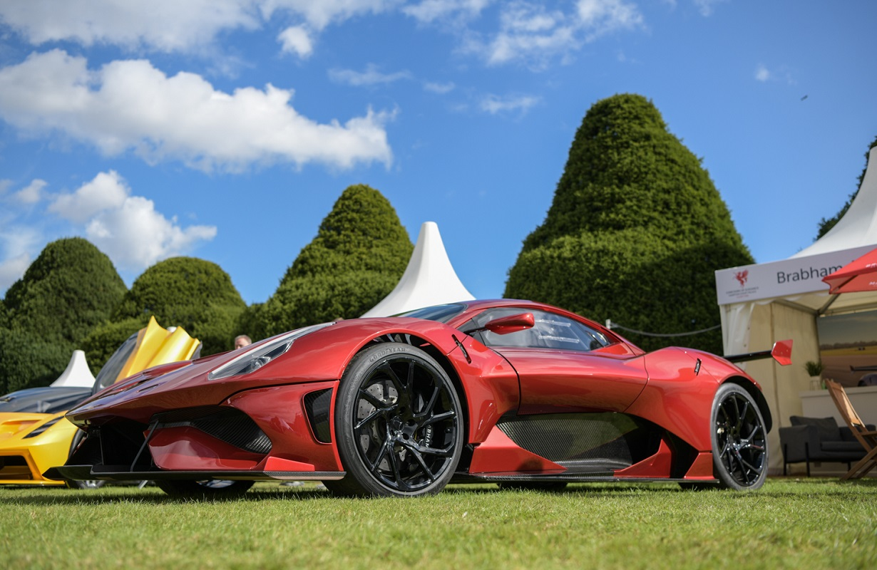 Brabham BT62R at 2020 Concours of Elegance